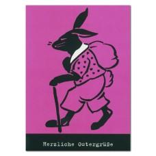 Osterkarte »Herzliche Ostergrüße«